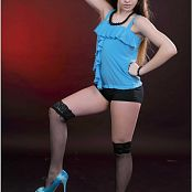 Download TeenModeling Sarah Blue Heels Picture Set