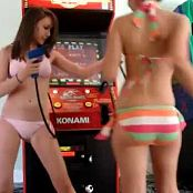 Download Teens Goofing Around At The Arcade Video