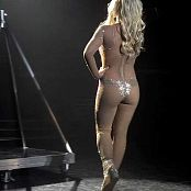 Download Britney Spears 3 Sexy Glittering Catsuit Video