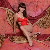 Download Silver Starlets Nakita Red Dress Picture Set 1