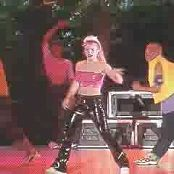 Download Britney Spears Medley Pink & Black Latex Outfit Live Woodstock 1999