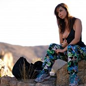 Download Ariel Rebel Joshua Tree Behind The Scenes Picture Set