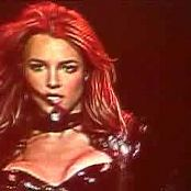 Download Britney Spears Toxic Sexy and Sweaty In PVC Outfit Video