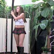 Download FloridaTeenModels Vanessa DVD 5 Schoolgirl Outfit DVDR Video