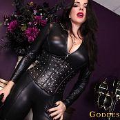 Download Goddess Alexandra Snow Leather Clad Worship HD Video