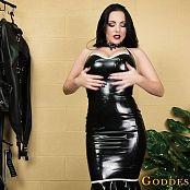Download Goddess Alexandra Snow Glossy Rubber Jerk HD Video