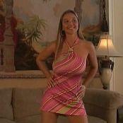 Download Christina Model Caramel Dress Video