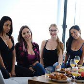 Download Ariel Rebel Babe Gathering Picture Set