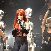 Download Rihanna Umbrella Live Red Hair & Sexy Outfit HD Video