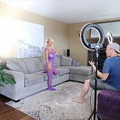 Download Jana Fox Purple Mesh BTS HD Video