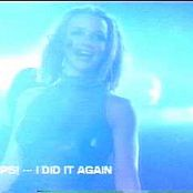 Download Britney Spears Oops I Did It Again Live Memphis Rare Blue Catsuit Video