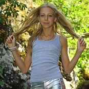 Download Silver Stars Anastasia Silver Shorts Picture Set 004