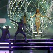 Download Britney Spears Work Bitch Glittering Catsuit HD Video