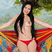 Download Michelle Romanis Red Thong & Star Stickers TCG Set 002