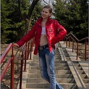 Download TeenModelingTV Katrine White Tube Top Picture Set