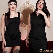 Download Goddess Alexandra Snow & Raevyn X Rose Humiliated Co-Worker HD Video