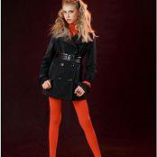 Download TeenModelingTV Masha Black Coat Picture Set