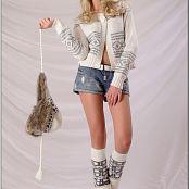 Download TeenModelingTV Masha White Sweater Picture Set