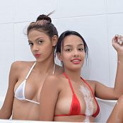 Download MarvelCharm Gema & Sabrina Bubble Bath Picture Set
