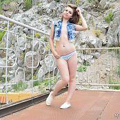 Download MarvelCharm Rebecca Denim Vest Picture Set
