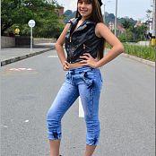 Download TeenModelingTV Sol Leather Vest Picture Set