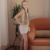 Download TeenModelingTV Alice white Knit Dress Picture Set
