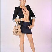 Download TeenModelingTV Sage Blue Skirt Picture Set
