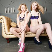 Download MarvelCharm Rebecca & Violet Duo Frenzy Picture Set