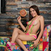 Download Dayana Medina Sweet Body Paint TCG Picture Set 004