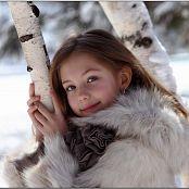 Download TeenModelingTV Alissa Fur Coat Picture Set
