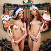 Download Britney Mazo & Mellany Mazo Christmas Costumes Group 6 TBS Picture Set 006