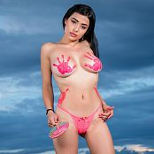 Download Pamela Martinez Body Paint & Lolipop TCG Picture Set 009