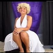 Download Christina Model White Dress Video