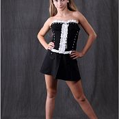 Download TeenModling Alice Maid Corset Picture Set