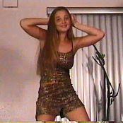 Download Christina Model Leopard Dress Video