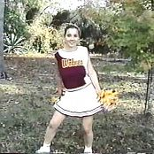 Download Christina Model Sexy Cheerleader Outfit 2 Video