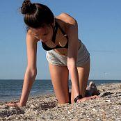 Download Cinderella Story Juliet Summer Warm Morning On The Beach HD Video 005