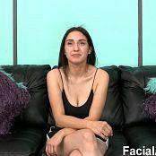 FacialAbuse 615 Bashful Brunette First Timer 1080p Video 130419 mp4