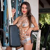 Britney Mazo Gym Machine TBS Picture Set 058