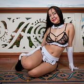 Azly Model White Maid Costume AZM Picture Set 051