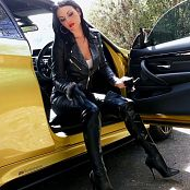 Young Goddess Kim Leashed Leather bitch Video 020519 mp4