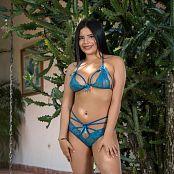 Glenda Blue Bikini TCG Set 008 007