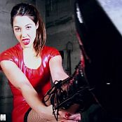 Ceara Lynch Red Dress Black Boots Video 060619 mp4
