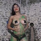 Luciana Model Body Painting Bath TCG Bonus Level 3 4K UHD & HD Video 006