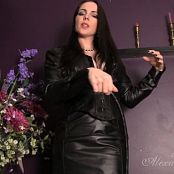 Goddess Alexandra Snow Lady In Leather Video