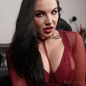 Goddess Alexandra Snow Strung out Gooner HD Video