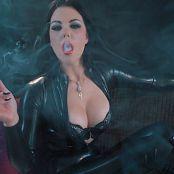 Young Goddess Kim Latex Smoke Seductress HD Video
