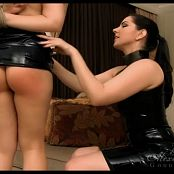 Goddess Alexandra Snow Tied & Spanked In Latex HD Video