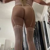 Kalee Carroll Sexy Lingerie Ass Shake HD Video 399