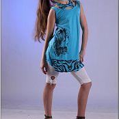 TeenModeling Alice Blue Dress 011